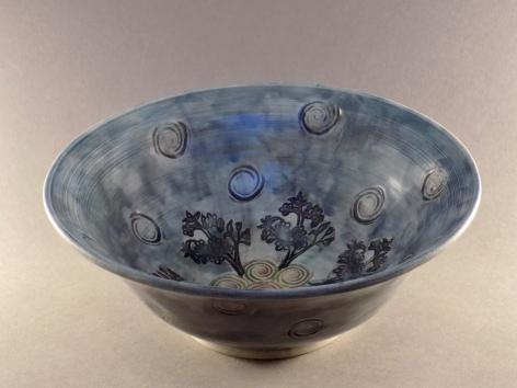 Blue Sky Bowl, porcelain