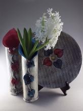 Platter & Lily Vase vignette