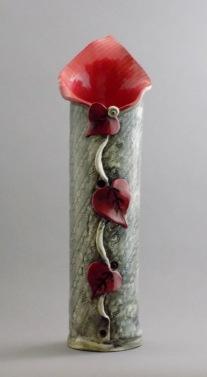 Lily Vase, porcelain