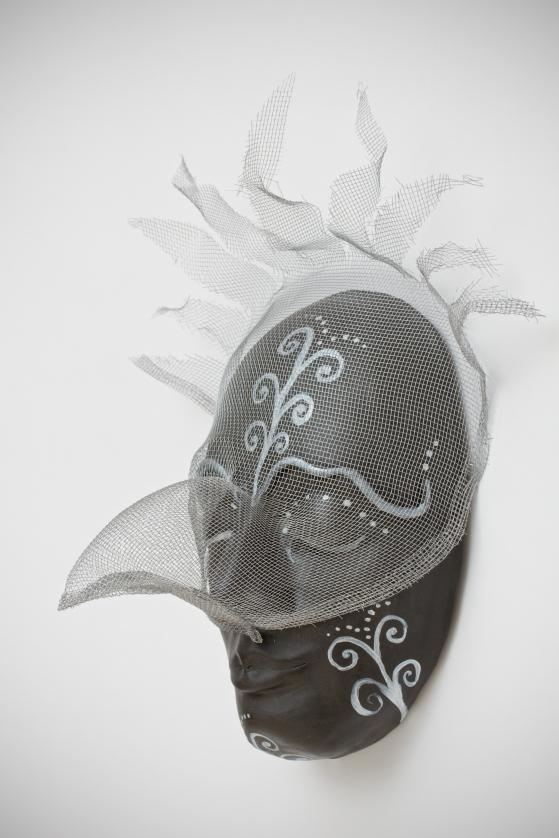 Bird Dreams, clay/screening