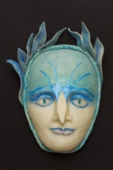 Bird Woman, clay